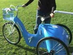 """The Aquaduct - """"a human powered tricycle designed to filter drinking water"""" (Tim Brown, Change by Design p. 22) 