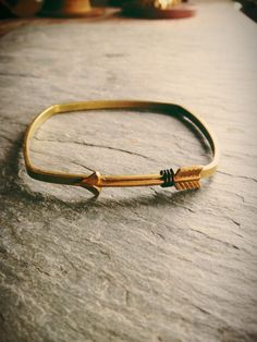 square arrow bracelet   Lily Wikoff