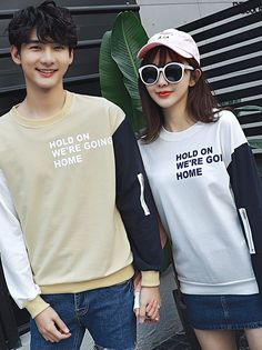 10db8d738f Letter Printing Mix Color Couple Hoodies _Couples shirts_WHOLESALE  CLOTHING_Wholesale clothing, Wholesale Clothes Online From China