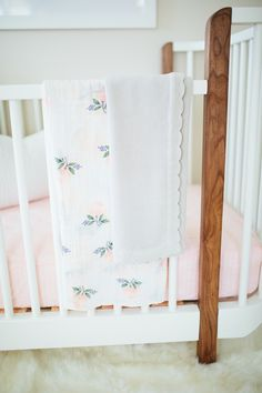Baby Girl Nursery Detail - Akin Design Studio