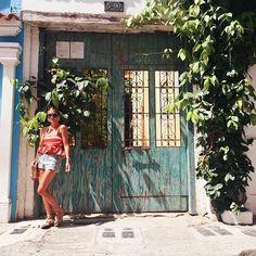 WEBSTA @ sisterlystyle - Between shadows, doors