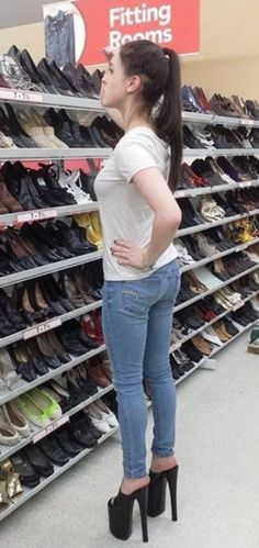 Men's Platform High Heel Shoes at Walmart - Funny Pictures ...