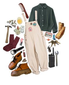 """working girl"" by abundanceoffreckles ❤ liked on Polyvore featuring art"