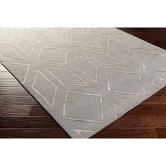 Surya Hand-Tufted Jaclyn Geometric Pattern Viscose Rug x ( Huntington Homes, Oriental, Painted Rug, Rug Size Guide, Contemporary Area Rugs, Area Rug Sizes, Fashion Room, Home Decor Trends, Accent Furniture