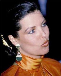 1986 -  Princess Caroline at the Red Cross Ball