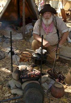 california gold rush miner | miner from Gold Rush era at Marshall Park, Coloma