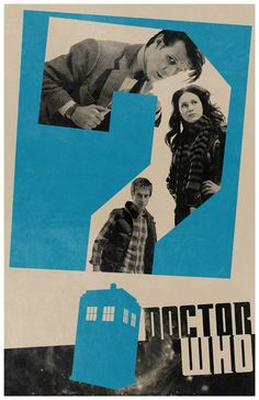 Doctor Who Minimalist Poster