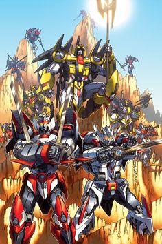 Alex Milne transformers | Alex Milne - Transformers Drift 2