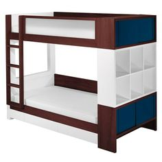 Nursery Works Duet Dark Bunk Bed
