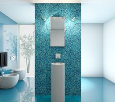Anthrazit Bad Mit Mosaik Bad En Suite - Http://homeaccesoriesideas ... Mosaik Badezimmer Anthrazit