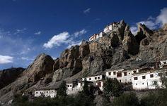 Kloster in Tangyar; Privatreise Ladakh Mountainbike Tour