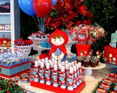 Festa Chapeuzinho Vermelho