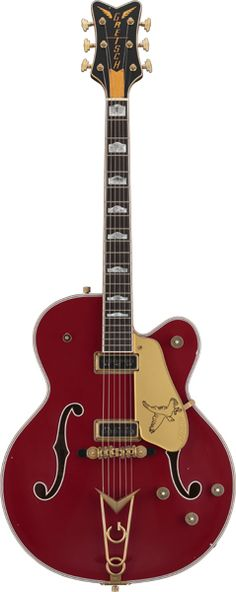 Custom Shop G6136CST Falcon Relic Firebird Red