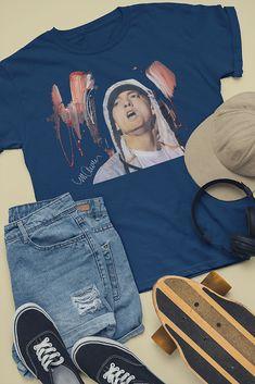 LOS ANGELES LA COMPTON Donna T Shirt COOL Hip Hop Rap Design Dre Snoop Top