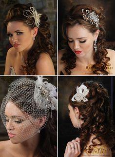 Wedding Hair Comb Inspirations