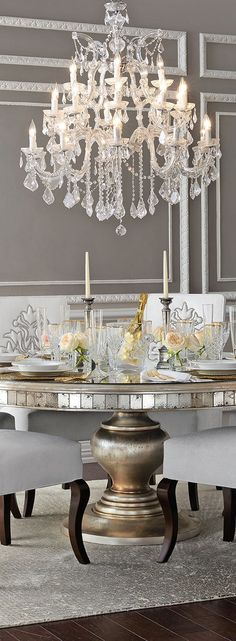 Glamorous Dining Room Design Ideas