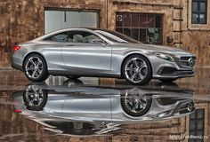 Mercedes S-class Coupe Concept