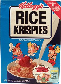 snap crackle and pop cereal -