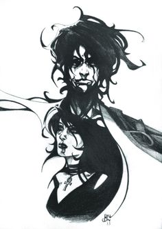 Brother and Sister. Sandman Dream and Death