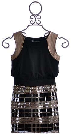 Elisa B Tween Special Occasion Dress Black $74.00