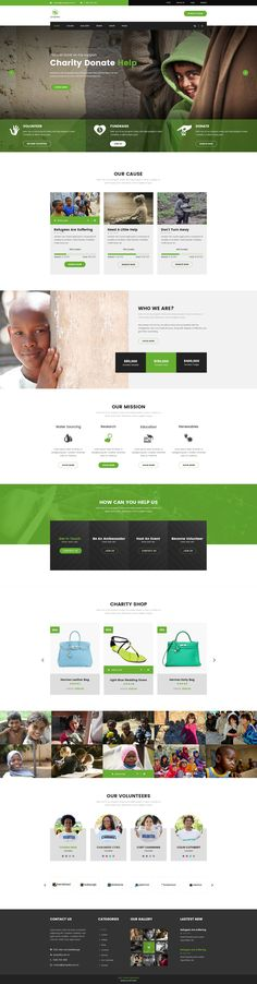 Sympathy | Charity, Non-Profit & Donations PSD Template #save children #shop • Download ➝ https://themeforest.net/item/sympathy-charity-nonprofit-donations-psd-template/19532782?ref=pxcr