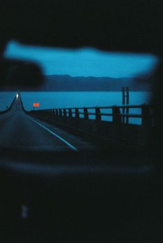 From Astoria to Washington [Canon Portra : analog Night Aesthetic, City Aesthetic, Blue Aesthetic, Film Inspiration, Writing Inspiration, Film Photography, Nature Photography, Late Night Drives, Canon Ae 1