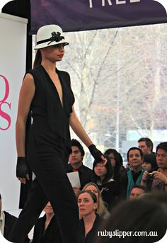 Ruby Slipper at MSFW City Square Runway - David Jones Spring http://wp.me/pFgT9-BH