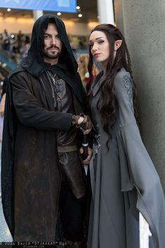 Aragorn and Arwen Undomiel