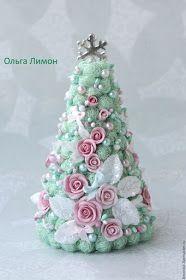 Bellart Atelier: Natal - Árvores pequenas delicadas!