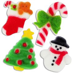 Mini Christmas Assortment Sugars from Layer Cake Shop!
