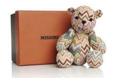 Teddybären Missoni For Holt Renfrew Bear And Elephant Plush NWT And Boxes