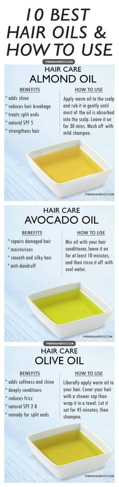 Benefits and How to Use - Top10 Hair Oils for healthy hair