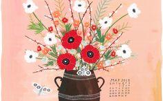 Love this may 2013 desktop calendar!