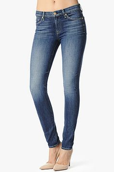 7 For All Mankind, SEVN-7839 The Skinny in Authentic Bright Blue, 7forallmankind.com