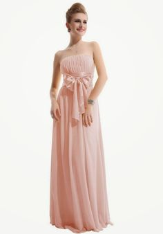 FABULOUS AND STYLE: Ever Pretty Empire Waist Bowtie Strapless Evening ...