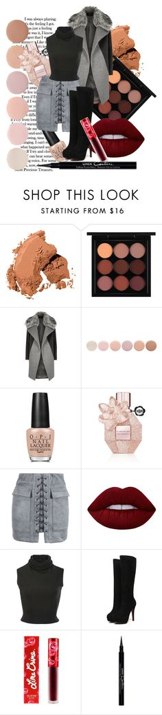 """""""autumn to winter x"""" by caitlinleanne48 ❤ liked on Polyvore featuring Bobbi Brown Cosmetics, MAC Cosmetics, River Island, Deborah Lippmann, OPI, Viktor & Rolf, WithChic, Lime Crime, Brandon Maxwell and Givenchy"""