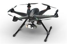 Carbon Black Walkera TALI H500 GPS Hexacopter Drone!  FPV Ready to Fly right out of the box!  www.HobbyFlip.com