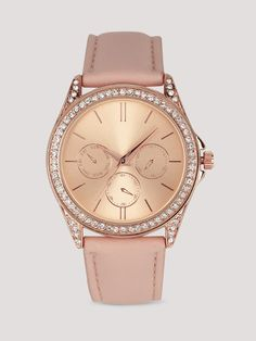 ce28130a9a1 Buy New Look Peach Leatehr Solid Analog Watch online