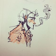 Yesterday's plane doodles included this Joe Strummer/Alex Turner-inspired dude. You can buy Fairyish Art at http://society6.com/feelingfairyish #art #cute #animation #cartoon #illustration #characterdesign #design #visdev #visualdevelopment...