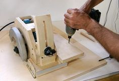 How to make a table saw from a circular saw