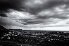 """""""Obrestad Fyr"""" Photography by studio-toffa posters, art prints, canvas prints, greeting cards or gallery prints. Find more Photography art prints and posters in the ARTFLAKES shop. Fine Art Prints, Canvas Prints, Monochrome, Art Photography, Clouds, Mountains, Landscape, Studio, Gallery"""