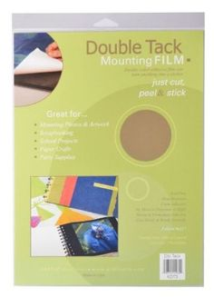 Grafix 9-Inch-by-12-Inch Archival Double Tack, 3-Pack  by Grafix    Price: $7.53