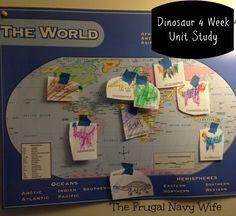 Homeschool Dinosaur Unit Study - Week 1 of 4 from @Matt Valk Chuah Frugal Navy Wife