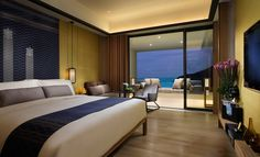 Pristine beaches and majestic mountains provide the backdrop for Cheng Meng's guestroom and suite furniture at the newly opened Intercontinental Sanya.