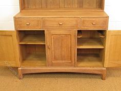 Arts & Crafts Cotswold School Limed Oak Dresser - Antiques Atlas