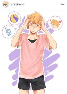"""Have you seen my boyfriend? He looks like this-"" | Haikyuu By Craziiwolf"