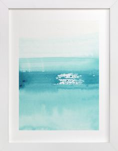 """""""Pacific"""" - Art Print by Lindsay Megahed in beautiful frame options and a variety of sizes."""