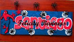 Banner en foami Spiderman
