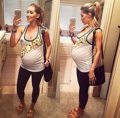 Check out these 14 Stages of Claudia Sam Pedro's Baby Bump - Accueillir en Gbetu TV