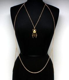 BRIJOR BOUTIQUE Lucky Charm body chain